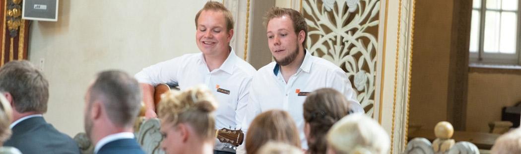 Livemusik als Einschub bei Hochzeit und Trauung